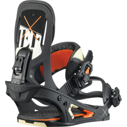 Snowboard Possessing the ability to tweak effortlessly and the support to charge open fields of powder and chunder alike, the Salomon Chief Binding is up for whatever style of riding you are and is built strong to handle the biggest features in the park. - $137.94