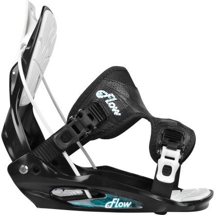 Snowboard With the Flow Women's Flite 2W Snowboard Binding, you get all the legendary comfort and convenience of Flow's closure system with a soft, forgiving flex that will help you take your riding to the next level. The Flow Speed Entry system lets you step in, lock down, and go without needing to sit down to strap in. All this comes without having to sell your car and start moonlighting at the local Quickie Mart. - $89.99