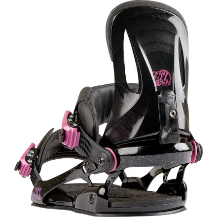 Snowboard The Rome Strut Snowboard Binding features a powerful, responsive flex for ladies who like a quick-reacting setup, and also offers plenty of side-to-side mobility thanks to the Underwrap heel hoop design. Cushy straps and the Sub Base padding ensure comfort and shock absorption whether ripping down chutes or airing it out in the park. - $113.97