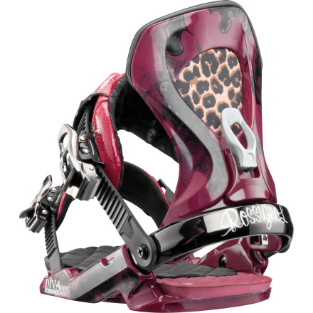 Snowboard You demand a lot from life; thankfully, there are a few things that can deliver the goods, like the Rossignol Women's Diva Snowboard Binding. Its stunning looks are backed up technical features like a canted footbed and Asymwrap highback that make you look your best on the slopes, as well as all the pampering comfort you fully deserve. - $107.97