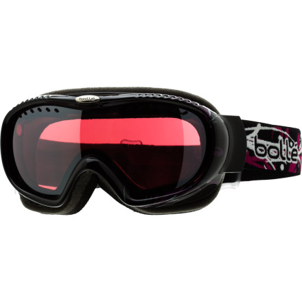 Snowboard Designed to fit small to medium-sized faces, the Bolle Simmer Goggles still pack tons of tech into their compact design. - $47.97