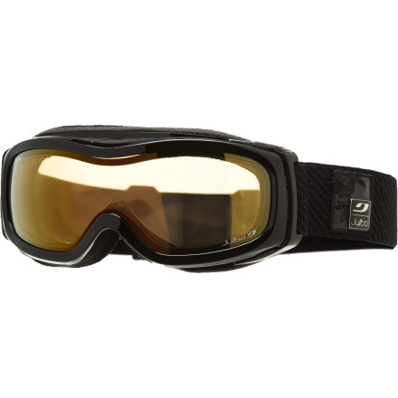 Snowboard If you're tired of wearing oversized men's goggles and wrestling with interchangeable lenses, then the Julbo Women's Eclipse Goggle with a Zebra Photochromic lens was made for you. The sleek feminine frame shape is designed to provide women with a comfortable fit, and the photochromic lens adapts to changing light conditions so your vision is always at its best. - $111.97