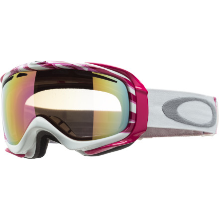 Snowboard Clear vision may be important on the mountain, but breast cancer awareness is important at all times. That's why Oakley designed the Women's Elevate YSC Breast Cancer Awareness Goggle, which contributes $20 from each sale directly to its partners at the non-profit network, Young Survival Coalition. Outstanding Oakley optics, face-hugging fit, and a pink awareness style combine to ensure comfort and something worth talking about on the chairlift. - $160.00