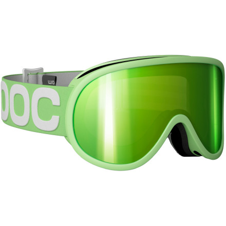 Snowboard The POC Women's Retina Goggle keeps your peepers protected from the glare and your style crisp. These high-tech goggles give you a wide, clear field of vision and use quality materials to make sure that your goggles will last. - $124.95