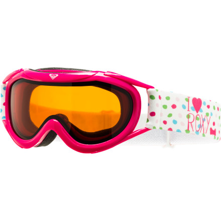 Snowboard The Roxy Loola Goggle protects your little lady's eyes from sun and wind in a comfortable package so she can concentrate on smoking her brothers in their next race. - $34.95