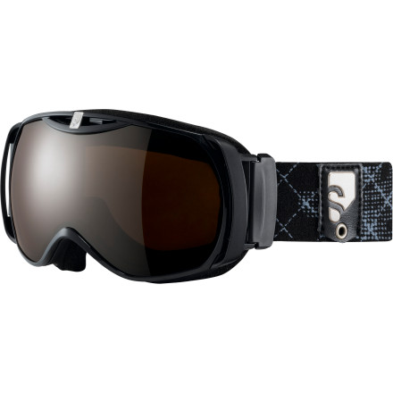 Snowboard The Salomon Women's Xtend Xcess8 Goggle is designed to do three things extremely well. First, increase field of vision. Second, provide a fog-free experience. Third, comfortably fit any face shape. Combine those three things and you get improved vision which ultimately translates to better riding performance day in and day out. - $134.95