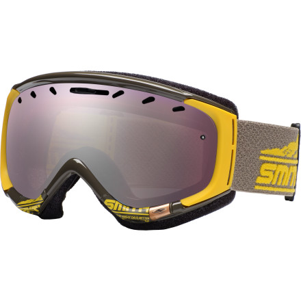 Snowboard Your goggles are you window to the mountain, and the Smith Womens Phase Goggles guarantee a magnificent view. From distortion-eliminating spherical lenses to anti-fog technology, these top-shelf goggs let you see the slopes like never before. - $76.97