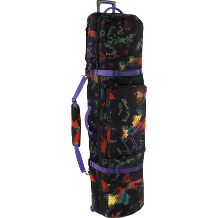 Snowboard Seasoned couch surfers and decadent travelers alike agree the Burton Wheelie Locker is the best bag for long trips involving lots of snow and lots of gear. - $199.92