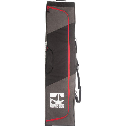 Snowboard With an oversized main compartment and durable material inside and out, the Rome Escort Snowboard bag safely transports your quiver and never talks back. It's the perfect companion. - $95.96