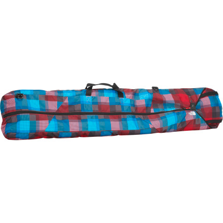 Snowboard From the shortest grom boards to ultra-long beef sticks, The North Face Board Burrito Snowboard Bag features an innovative internal adjustment system that lets you size it to fit almost any board length. Internal adjustment straps provide a slack-free fit, and a removable padded shoulder strap lets you dial in the right configuration for your travel plans. - $55.27