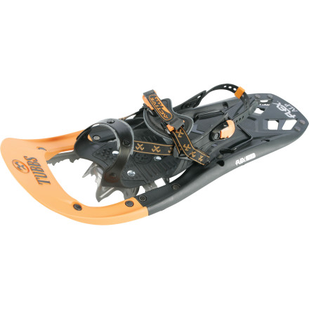 Camp and Hike We can't all live in powder heavens like Utah (sorry, folks), so Tubbs created the Men's Flex Alp Snowshoe for those whose excursions tend to be in hard-packed or icy conditions. This 2010 Outside Magazine Gear of the Year Award winner features 3D Curved Traction rails that ensure superior side-hill grip; double them up with the super-aggressive Viper 2.0 rail crampons, and you get unbeatable traction in icy, hard-packed, steep, and just plain ugly conditions. - $160.97