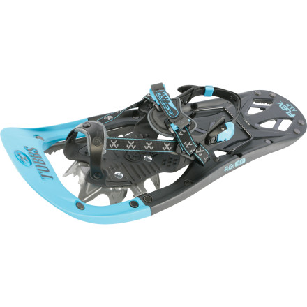 Camp and Hike Designed for hard-packed, icy, or variable conditions and challenging trails, the Tubbs Women's Flex Alp Snowshoe is your ticket to the backcountry. Between the 3D Curved Traction rails that ensure superior side-hill gripeven on firm and/or steep surfacesand the super-aggressive Viper 2.0 rail crampons, the Flex Alp offers reliable traction in questionable conditions. - $160.97