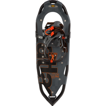 Camp and Hike Whether you're a battle-hardened winter warrior or are looking to strap on snowshoes for the first time, the Atlas 9 Series FRS Snowshoe has the tech to take you where you want to go without breaking the bank. The innovative Free-Rotating Suspension provides a secure footing on traverses and uneven terrain while the tempered steel cleats and toe crampons securely bite hard snow and ice. - $118.97