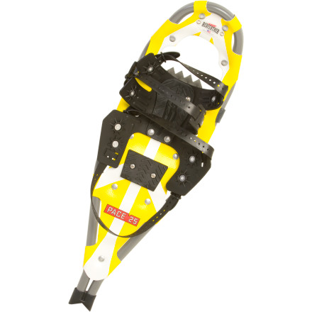 Camp and Hike When the snow has given your favorite hiking trail a new look and feel, keep up your routine with the help of the Redfeather Womens Pace Snowshoe Kit. This kit includes a pair of the Pace snowshoewhich is cut narrower just for womenas well as trekking poles, and a convenient tote bag. - $149.96