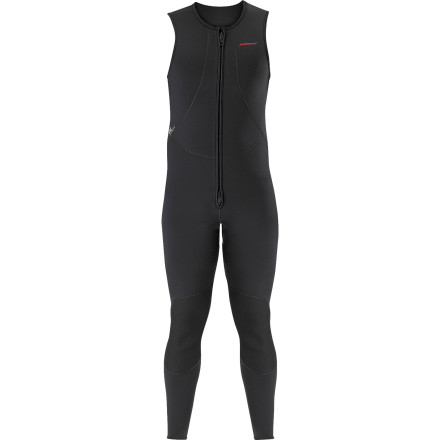 Surf Whether you're on an all-day river mission or playing in the whitewater park, rely on the comfort of the the Stohlquist Men's Rapid John 3mm Super-Stretch Wetsuit. Offering just-enough warmth and mobile stretch, this sleeveless wetsuit keeps you out on the water longer. - $149.90