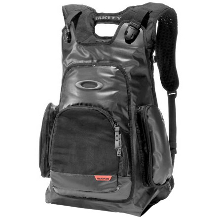 Surf Keeps your wets and drys from infecting each other with the Oakley 3 In 1 Blade Backpack. The Blade uses Hydrofuse technology to ensure that no moisture exchanges hands, and a mesh storage area that allows your wet stuff to dry out while you're headed to the next break. - $175.00