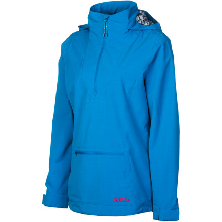 Fitness Slip into your Burton Women's Lotus Pullover Jacket and ignore the dark clouds heading your way. This water-stopping hooded jacket delivers clean style and enough weather protection to keep you dry if those clouds track you down and try to drizzle you into a soggy mess. - $53.97
