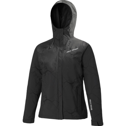 Fitness The rainy season comes whether or not you're ready, but with the Helly Hansen Women's Granville Jacket you can block out the mini-monsoons with a printed style that fits into your everyday sidewalk-hopping lifestyle. - $74.97