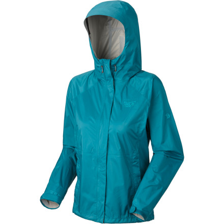 Fitness Torrential rain and howling wind on your backpacking trip may make for epic storytelling afterward, but first you have to get through it; the Mountain Hardwear Womens Epic Jacket will keep you dry until the tempest passes. This lightweight, supple rain shell features a waterproof breathable Conduit laminate that seals out moisture while allowing water vapor to escape. - $49.98