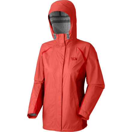 Fitness Four hours ago you made the mad dash in the rain to the airport with the Mountain Hardwear Women's Versteeg Jacket, and now you're driving up the canyon in a snowstorm. Built with a waterproof breathable Dry Q Core membrane, this jacket keeps you protected from the elements so you can hike or run in the rain and ski in the lightly falling snow. - $79.97