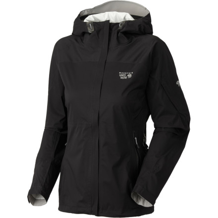 Fitness Some rain jackets are great at keeping out wetness, but they make you feel like you're stuck in a stiff box. The Mountain Hardwear Stretch Typhoon Jacket has a Dry. Q Core membrane that's  waterproof, windproof, and breathable and that's also lightweight and stretchy. - $99.98