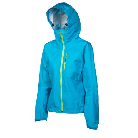Fitness Never question whether or not to pack a rainshell again\227the Stoic Womens Vaporshell Jacket protects like an atmosphere when you wear it, but weighs as much as an apparition when you have it in your pack. This lightweight, waterproof, extremely packable rainshell puts all your past rain gear to shame. - $129.00