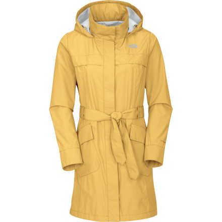 Fitness Whether you are walking through the Redwood Forest in December or braving the streets of Manhattan in April, The North Face Women's Stella Grace Jacket will keep you dry, feeling good, and looking great. This long jacket combines clean, fashionable lines with serious outdoor tech. - $146.97