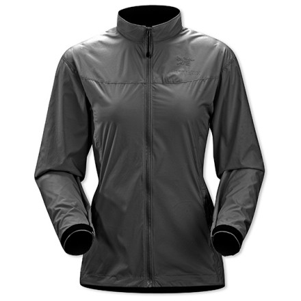 Fitness Bring the Arc'teryx Women's Celeris Jacket along when you plan to move light and fast through the backcountry. This featherlight, water-resistant windbreaker barely takes up any room in your pack and will help you stay warm on a blustery mountaintop. Arc'teryx gave articulated elbows and gusseted underarms to the trim-fitting, female-form-flattering Celeris so it won't restrict your moves or ride up when you reach above your head. - $90.27
