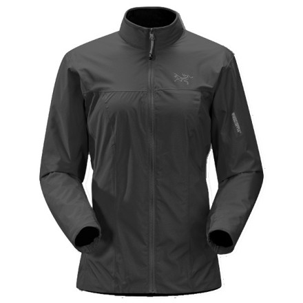 Fitness When you plan to climb a 12,000-foot peak or intend to spend a day climbing in White Rock, NM, bring along the Arc'teryx Women's Solano Jacket. The Solano features WindStopper material to block chilly gusts and light precip, while polyester lining wicks perspiration and provides a touch of insulation. Nylon lining in the sleeves makes sliding this jacket over layers a cinch. Arc'teryx added articulated sleeves and underarm gussets to the contoured-fit Solano, so you can move as needed on the trail or rock face'in fact, you might feel as though Arc'teryx custom-made this jacket for you. - $99.48