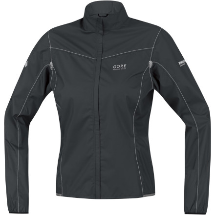 Fitness Just over three-ouncesthe Gore Women's X-Running Light AS Jacket weighs in at just over an astonishing three-ounces. Good luck convincing yourself to leave home without it. Easy to bunch up and fit in your pocket, this Windstopper Active fabric running shell makes the ultimate ultralight, zip-up layer for pounding out road miles or cruising the trails behind your house. - $79.97