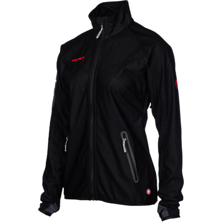 Fitness The Mammut Rash Jacket completely eliminates windchill, keeping you warmer and more comfortable when youre on the trial. The small packing volume will have you constantly reaching for this jacket instead of your other, more bulky, layers. And the highly breathable GORE WINDSTOPPER material and underarm zips make it an ideal choice for strenuous activities. Mammut rounds out the package with two front zip pockets and a chest pocket, which are great for storing energy bars or stashing your keys. - $94.50