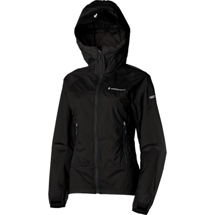 Fitness Whether you're itching to get a head start on the climbing season or trying to squeeze in one last day of skiing, spring is the perfect season to pack along the Peak Performance Women's Nominal Jacket. This comfortable, lightweight jacket comes with two-way stretch nylon fabric that flexes and extends with your body and a water-resistant coating to protect against light rain and snow. - $104.98