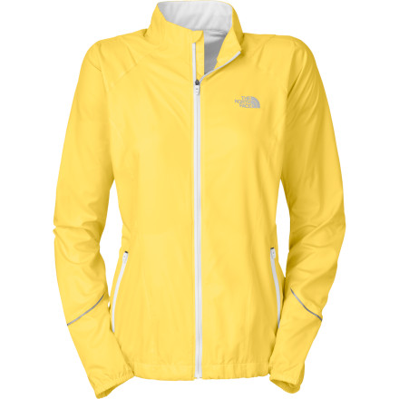 Fitness Launch down the trail with unstoppable speed in The North Face Women's Torpedo Jacket. Water- and wind-resistant fabric lets you focus on your performance, not the weather, while body-mapped ventilation regulates your temperature. - $98.95