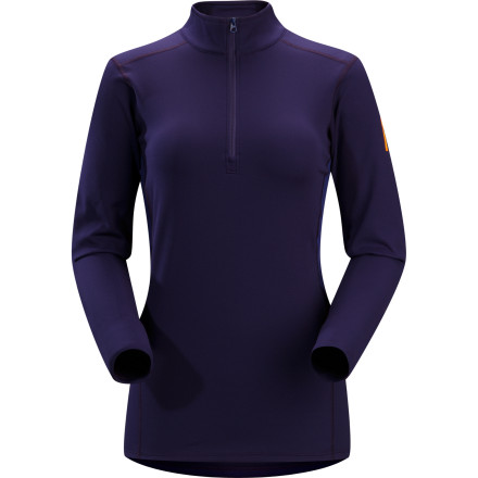 Fitness The stop-and-go sweating that accompanies a ski tour, ice climb, or snowshoe expedition means that if you don't have just the right base layer, you'll either shiver or roast'or both. The Arc'teryx designed the Women's Phase SV Zip-Neck top for optimal moisture management, insulation, and ventilation with a blend of its new, improved proprietary Phasic fabrics. - $59.47