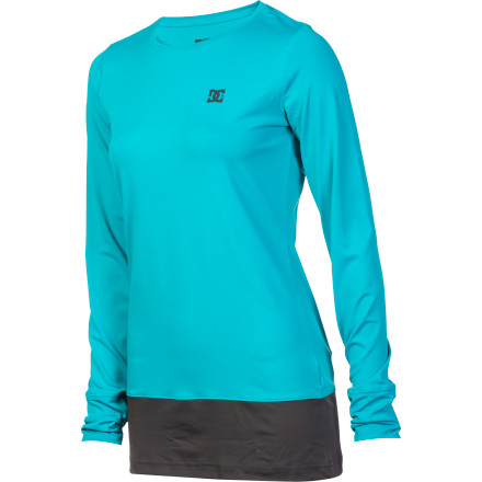 Fitness The DC Women's Galena 13 Top is a baselayer so comfortable and stylish, you won't mind keeping it on after a long day riding. It's also good for space exploration. - $22.50