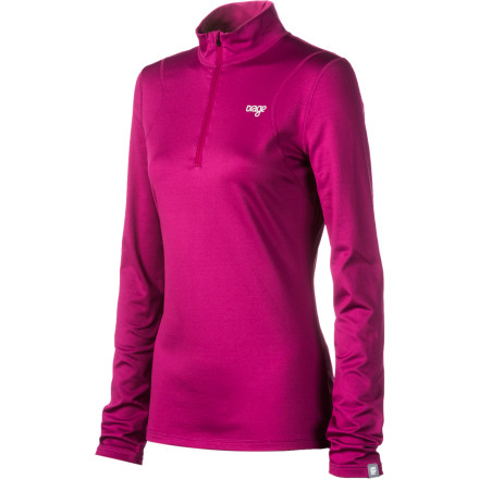 Fitness Take off your ski jacket with pride and showcase the Orage Women's Maria Top to your ski posse. Gone are the days of those dorky-lookin' baselayers, so you can feel free to rock this moisture-wicking, breathable, and quick-drying shirt both on and off the hill. Its stretchy, performance-fit fabric makes it ideal to wear when you shred the hill, snowshoe through the woods, or tour the backcountry. - $15.00