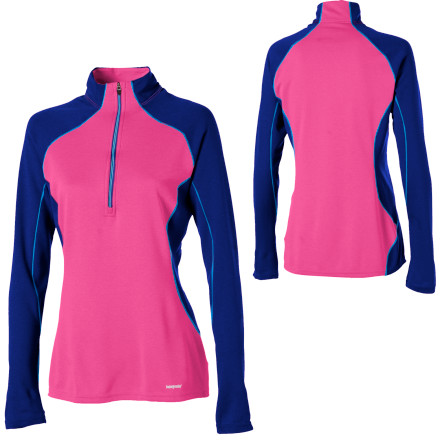 Fitness Dont scare off the aprs-ski scene with your stink; try the Patagonia Womens Capilene 3 Zip-Neck Shirt with all-natural Gladiodor odor treatment and youll have the boys eating out of your hand as you recap your epic backcountry adventure. This long-sleeve shirts fine construction and contoured fit makes it ideal for layering. Not only that, but this thermal keeps you warm when you need it most and dumps heat when you work hard. - $41.30