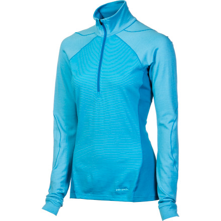 Fitness It's no surprise that the Patagonia Merino 3 Midweight Zip-Neck Long-Sleeve Top is always on top of your pile of clothes. Of course, it's the first thing you always grab when you're getting ready to head to the mountains. This slim-fit, moisture-wicking, durable baselayer keeps you plenty dry and warm in chilly temperatures so you stay comfortable for slashing turns down the slopes or having a snowball fight. The chlorine-free merino wool fabric feels incredibly soft against your skin and won't hoard odors, and you can throw this shirt in the laundry machine when it finally does need a wash. - $54.45