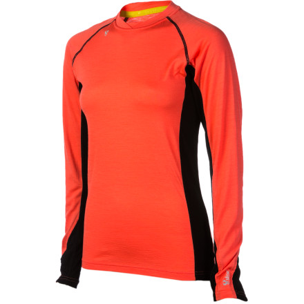 Fitness The Stoic Women's Merino 200 Crew Shirt is the ultimate long-sleeve top for layering up for a cold day of running, hiking, or skiing. Merino wool is soft and naturally breathable, and the 200-weight construction makes this a midweight piece perfect for colder days. Trade your stifling synthetic baselayer for this little slice of heaven. - $43.45