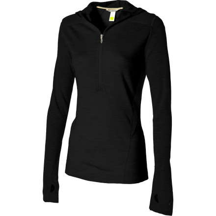 Fitness Merino wool is so much more than just wool, and the SmartWool Women's Midweight Hooded Top is so much more than just a shirt. This hoody is a hardcore performance piece that will insulate your upper body when you ski and keep you cool and sweat-free while you run. - $87.47