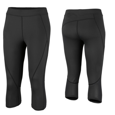 Fitness Break free from the daily grind, slip on the Columbia Women's Rapid Run Tight, and run until your heart booms with joy. It could be a winding trail or a grimy city sidewalk, but, either way, this form fit, knee tight keeps you comfortable as you transition from one joyous step to the next. - $24.98