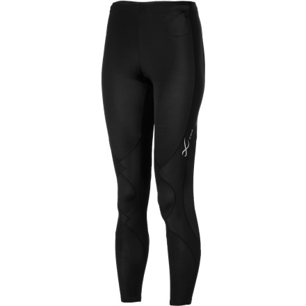 Fitness The CW-X Women's Expert Conditioning Full-Length Tights use a patented Conditioning Web technology to help muscles and ligaments band together. This two-way stretch web encircles the knee joint and offers support in the calf area, so your muscles get less fatigued during your long-distance runs. The Expert Conditioning Tights' wicking fabric keeps you dry, and flat seams eliminate chafing. A Coolmax gusseted crotch liner provides a comfortable, women's-specific fit. - $84.95