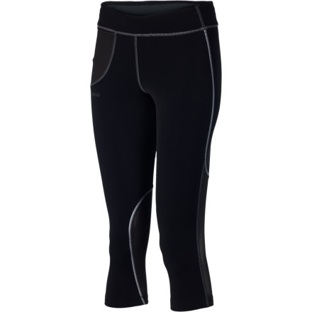 Fitness Whether bluebird or rain, you're always ready to hit the trail after work when you wear the Houdini Women's Slipstream Capri Tight. - $64.97