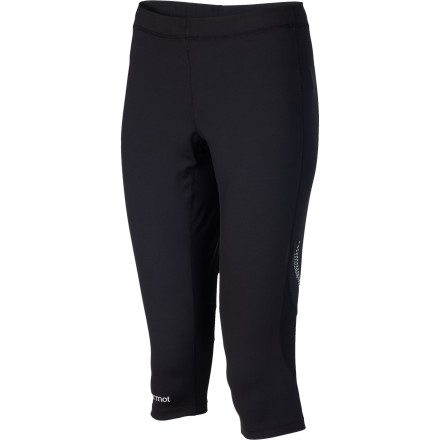 Fitness Run, hike, or walk your way to a healthy self and happy life with primary muscle coverage from the moisture-managing, odor-controlling, and quick-drying Marmot Women's Trail Breeze 3/4 Tight. - $45.47