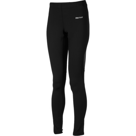 Fitness A trail tight for spring, summer, and fall excursions, the Marmot Women's Trail Breeze Tight features a compressive fit to support your muscles while you put miles between you and the rest of the world. - $41.97