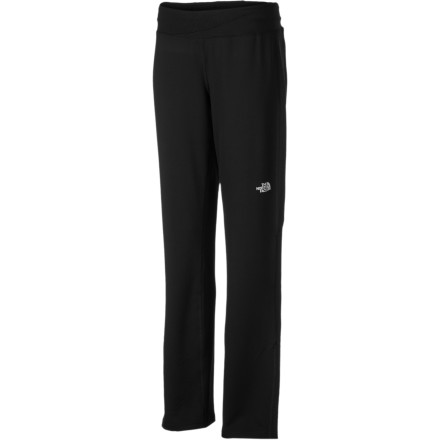 Fitness The mess in your living room and the work you didn't get to last week are calling, but you block them out and instead obey the command of The North Face Women's Impulse Pant to go out for a run. The Impulse offers coverage that's great for early spring or late fall runs, and comfort that's welcome anytime. - $42.22