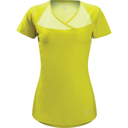 Fitness Arc'teryx Kapta V-Neck Shirt - Short-Sleeve - Women's - $29.48