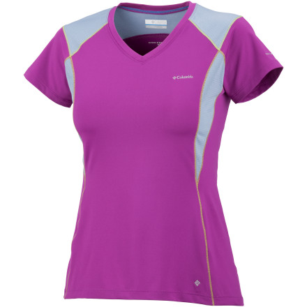 Fitness You acquire knowledge every time you master another route and you increase endurance with each additional milenow gain insight into true comfort during activity with the Columbia Women's Insight Ice V-neck Shirt. - $24.98