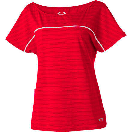 Fitness Feel the burn when you wear the Oakley Women's Extend Short-Sleeve Top during your intense workout session. - $21.00
