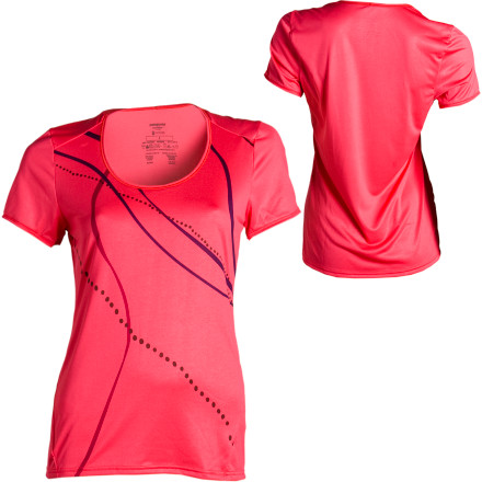 Fitness Feathery-light and silky-smooth, the Women's Capilene 1 Graphic Performance Short-Sleeve T-Shirt is the ideal layer for outdoor adventures or warm-weather travel. Patagonia made this shirt from its lightest weight Capilene performance fabric (recycled fabric, no less) that dries quickly and breathes easily to keep you cool. Rather than leaving you to select from a ho-hum array of standard colors, the Capilene offers a number of cute designs and prints so you can mix up your look. - $49.00